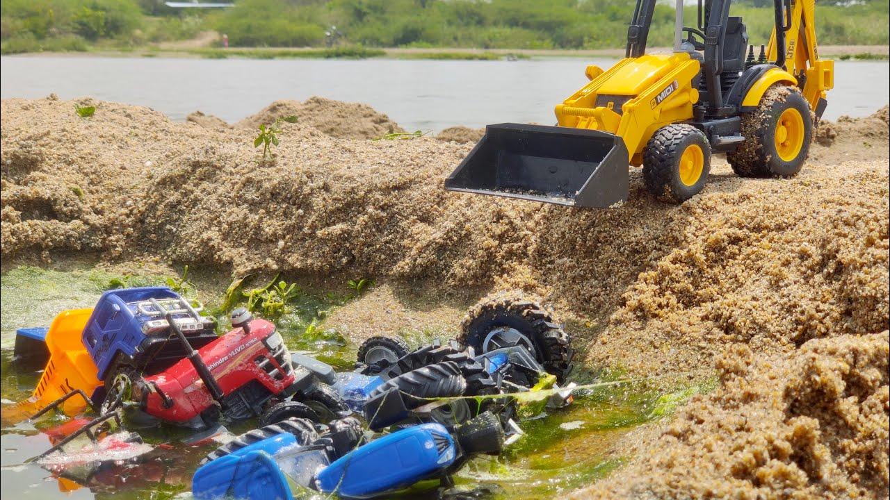 Download JCB Machine making accident All Companies Tractors | Mahindra, New Holland, ACE, Sonalika