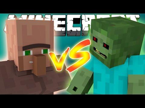 Как вылечить зомби жителя в Minecraft