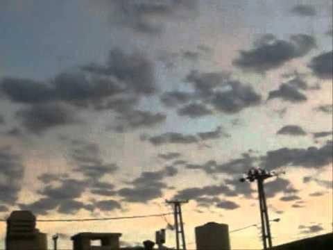 Sonidos extraños en el cielo de Comodoro Rivadavia (Argentina)