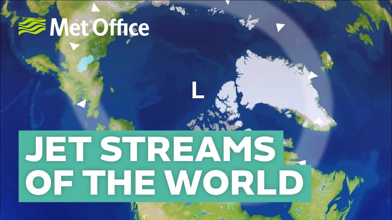 Jet streams from around the world