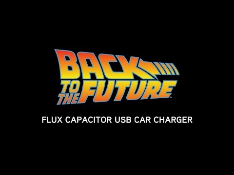 Coolest car charger ever: Flux Capacitor hits ThinkGeek for just $25