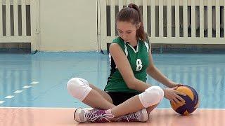 Волейбол обучение. Девушки. Тренировка. Часть 2
