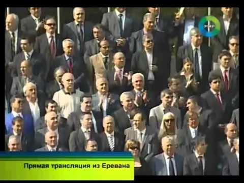 Военный парад в Ереване (на русском)