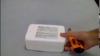Unboxing carcaça iphone 5c aliexpress