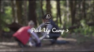 How to Pack Up Camp | Camp Craft Episode 28 | MSC Get Outdoors Series