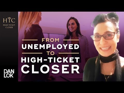 """From Having ZERO Skill Sets and Being Unemployed To Being A High-Ticket Closer."" 