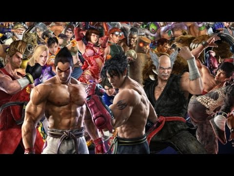 top 10 tekken characters youtube