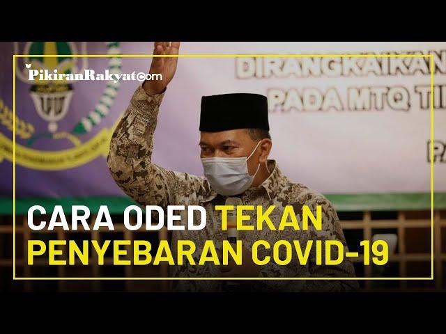 Tekan Penyebaran Covid-19 di Kota Bandung, Mang Oded Minta Penyintas Donorkan Plasma Darah