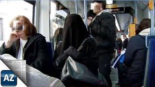 Niqab-Experiment I Reaktionen auf den Ganzkörperschleier