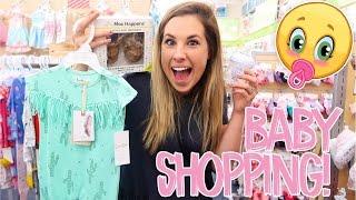 SHOPPING FOR BABY GIRL!