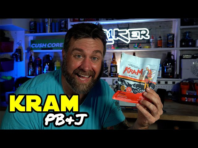Not your average Peanut Butter & Jelly Sandwich - KRAM PB&J - 90 Second Review