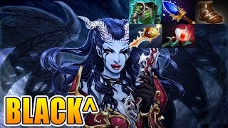 Black^ Dota 2 [Queen Of Pain] Divine Rapier 6500MMR GamePlay