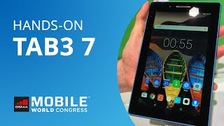 TAB3 7: o novo tablet Android da Lenovo [Hands-on | MWC 2016]