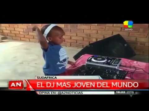 El DJ más joven del mundo