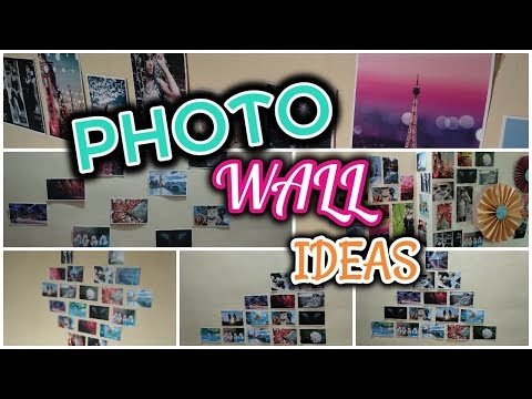 DIY Photos Wall Ideas | Simple ways to Decorate Your Room | Photo Display Ideas