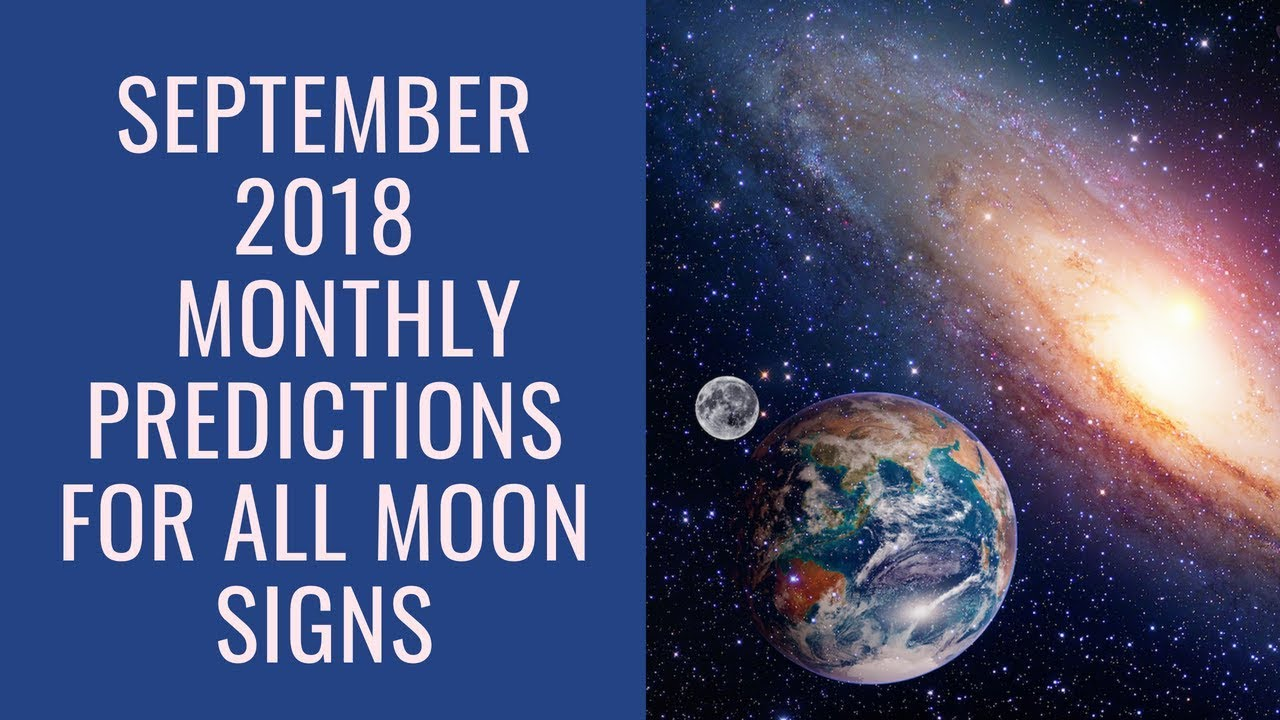Monthly Horoscope by Moon Sign