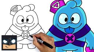 How To Draw Squeak | Brawl Stars