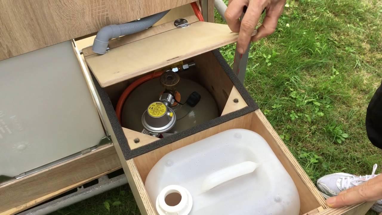 Camping Küchenblock Selber Bauen Wohnmobilküche   YouTube