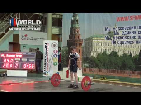 23.02.2017(session-1.Snatch) Competition Team YUNOST' Moscow  to 16 years