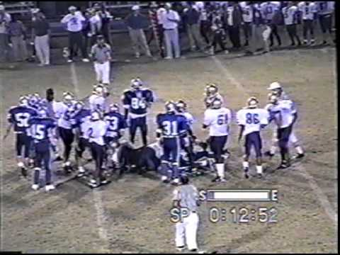 Brookstone High School vs Crawford County  - 1997 Football