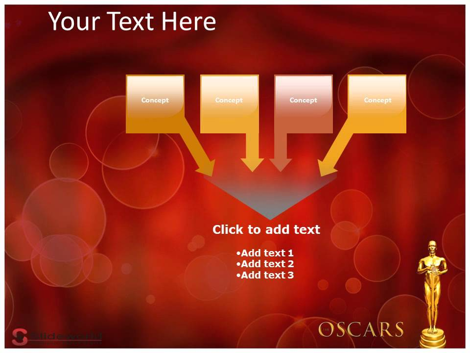 oscar awards powerpoint presentation templates - youtube, Presentation templates