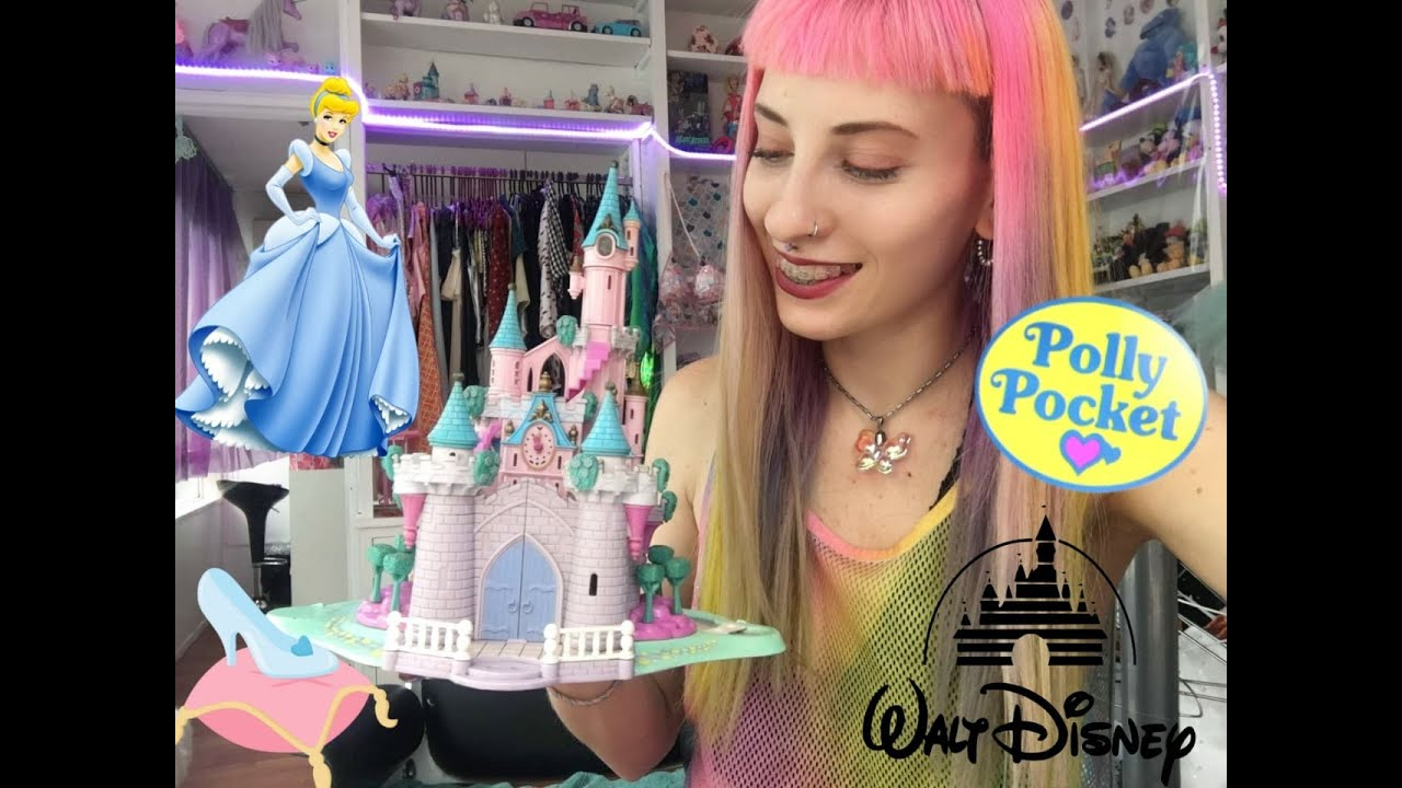 Disney Princesas Cenicienta Castillo Polly Pocket Retro Vintage Review en Español Latinoamerica