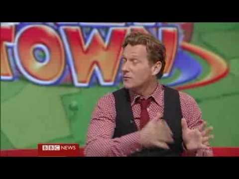 LazyTown - Magnus Scheving On BBC Breakfast Programme ...