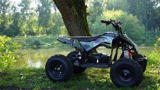 Motax Gekkon 1300W | Обзор детского электрического квадроцикла MOTAX