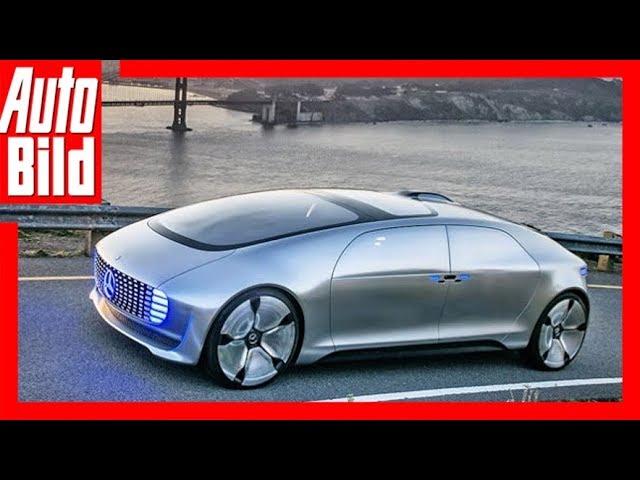 Mercedes F 015 - Erste Fahrt im Benz der Zukunft