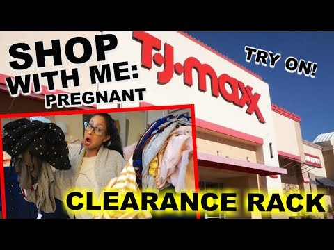 Shop With ME TJ MAXX & Nordstrom Rack HAUL  Clearance Rack Galore Pregnancy Clothes