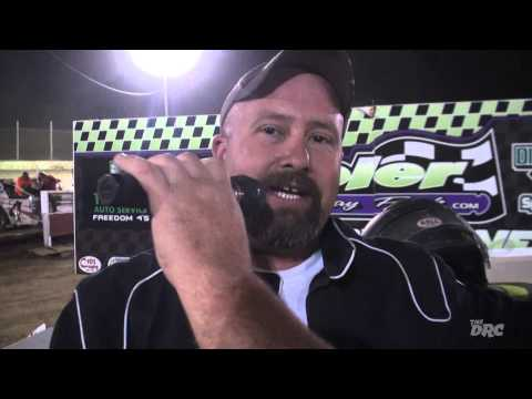 Moler Raceway Park | 8.28.15 | Diamond Cut Lawn Care Sport Mods | Feature Winner | Andy Trout