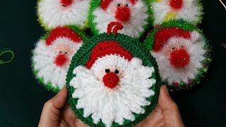 [나무사랑]호빵 산타수세미 / Crochet santa…