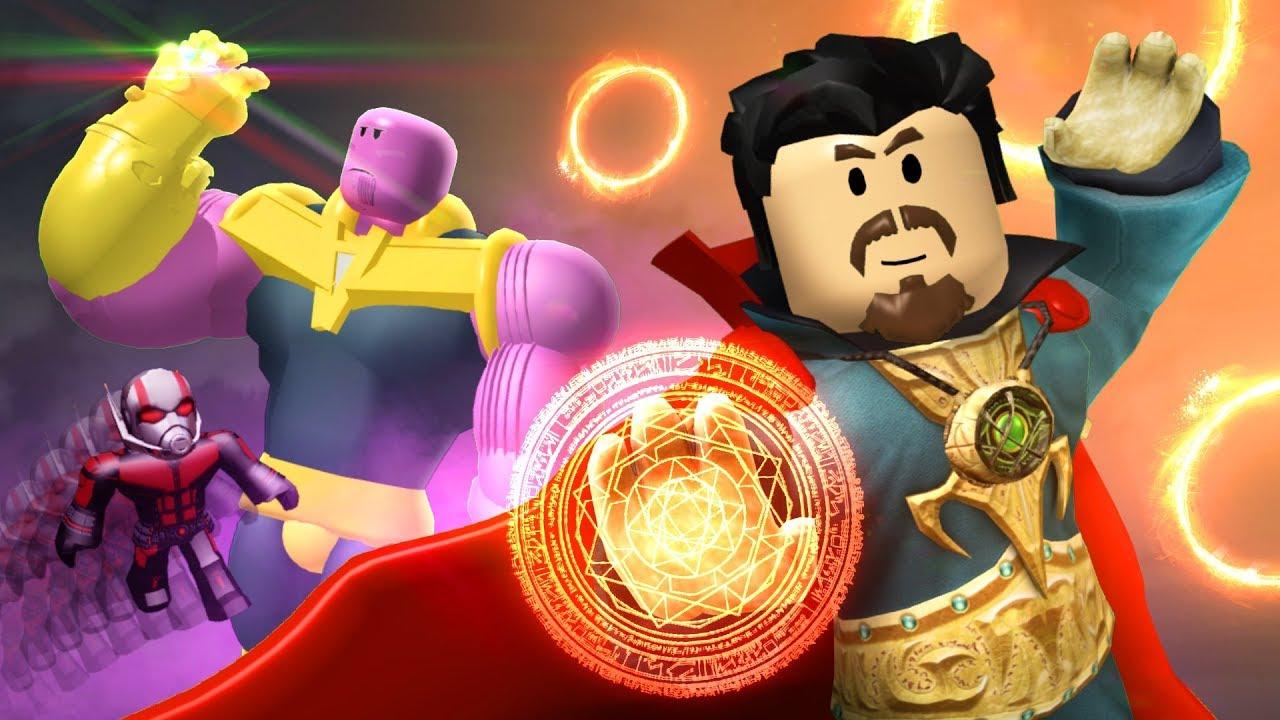 Avengers Endgame Update Roblox Superhero Simulator Youtube