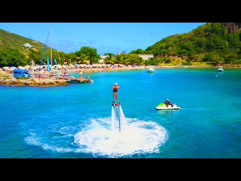 THE DAY I LEARNED TO FLY! (Flyboarding in St Kitts)