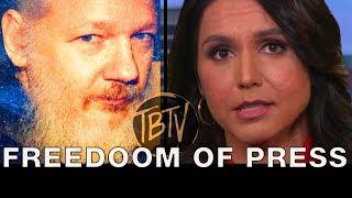 UPDATE: Tulsi Gabbard's Julian Assange Arrest Response