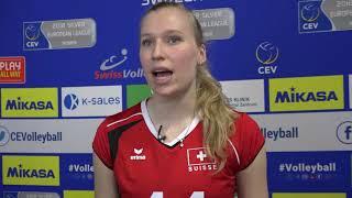 """""""Wir müssen uns auf das nächste Spiel konzentrieren"""" - Laura Künzler"""