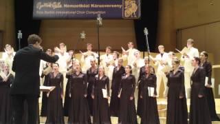 """Youth Choir """"Kamēr..."""" S.D.Sandstrom - Ah! Sun-Flower"""