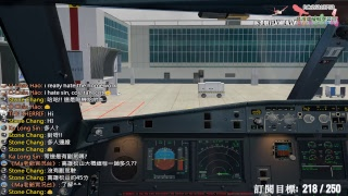 降落時煞車沒有控制好導致滑出跑道GG了.