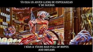 Iron Maiden Stranger in a Strange Land  lyrics y subtitulos en español