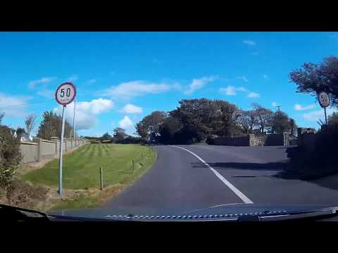 Driving in Tramore Co Waterford Ireland Friday 15th September 2017
