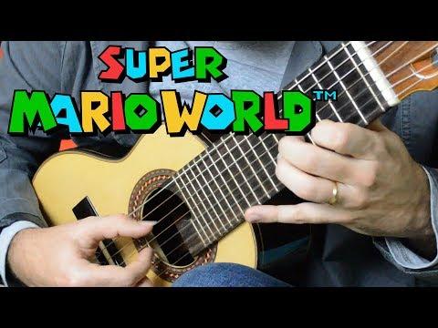 Super Mario World (Overworld Theme) - Mini Guitar (Marcos Kaiser)