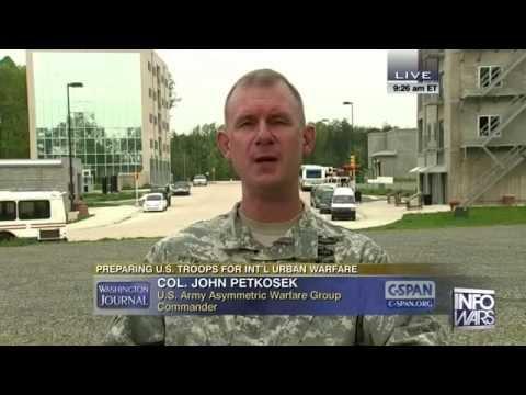 "The Sleeping Giant Awakens ""Asymmetric Warfare Training Center Group"" on Live TV"