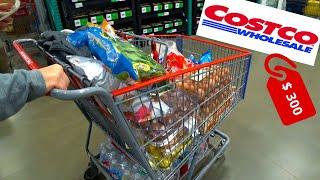 Покупки в Costco на 300 Покупаем продукты и одежду в американских магазинах Цены на еду в США