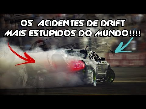 TOP 10 ACIDENTES MAIS ESTÚPIDOS DE DRIFT!!!
