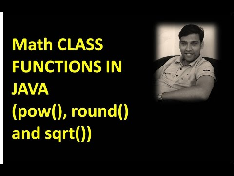 Math Class Functions - Pow(), Round(), Log() And Sqrt()