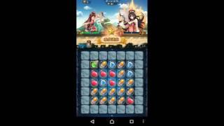 ラブラブ・パラダイスやってみた#1~古風パズルカードRPG~ スマホゲームアプリ