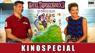 Hotel Transsilvanien 3: Ein Monsterurlaub - Special | Anke Engelke | Rick Kavanian | Janina Uhse
