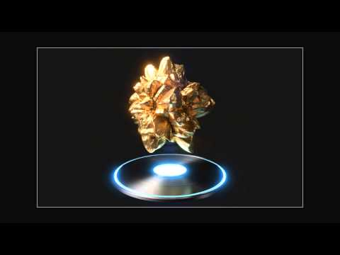 Galactic Ore | Turntable test in Blender