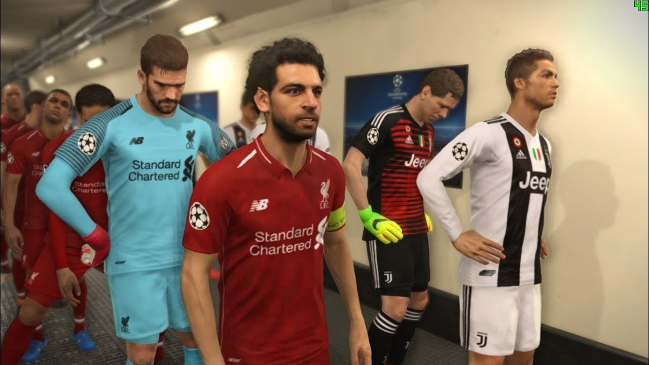 JUVENTUS vs LIVERPOOL I New Kits Season 2018 19 I PES 2018 Gameplay ... b95101fde