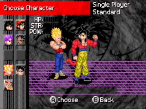 Dragon Ball Gt Transformation Como jugar con personajes
